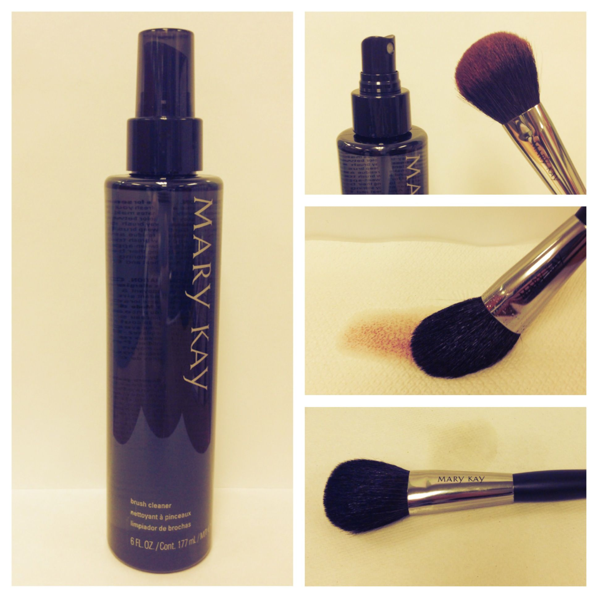 Did you know? Regular use of the Mary Kay® Brush Cleaner