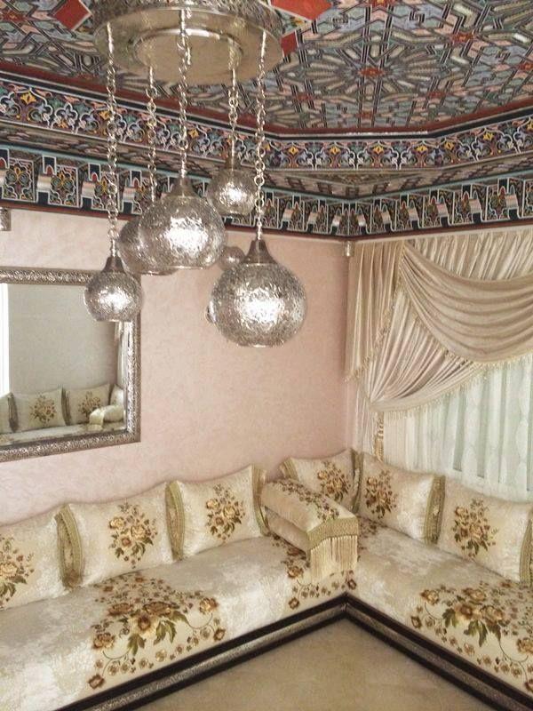 Salons Marocains Archives - Page 8 of 39 - Espace Deco | Biscuit | Salon marocain, Salon et ...