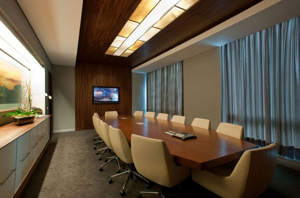 Glamour and naturally acbc office interior meeting room for Meeting room interior design ideas