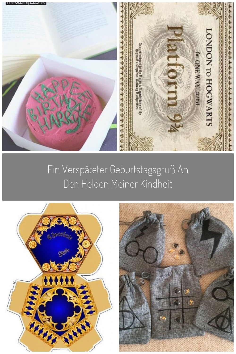 Harry Potters Birthday Cake Geschenkideen Harry Potter Ein