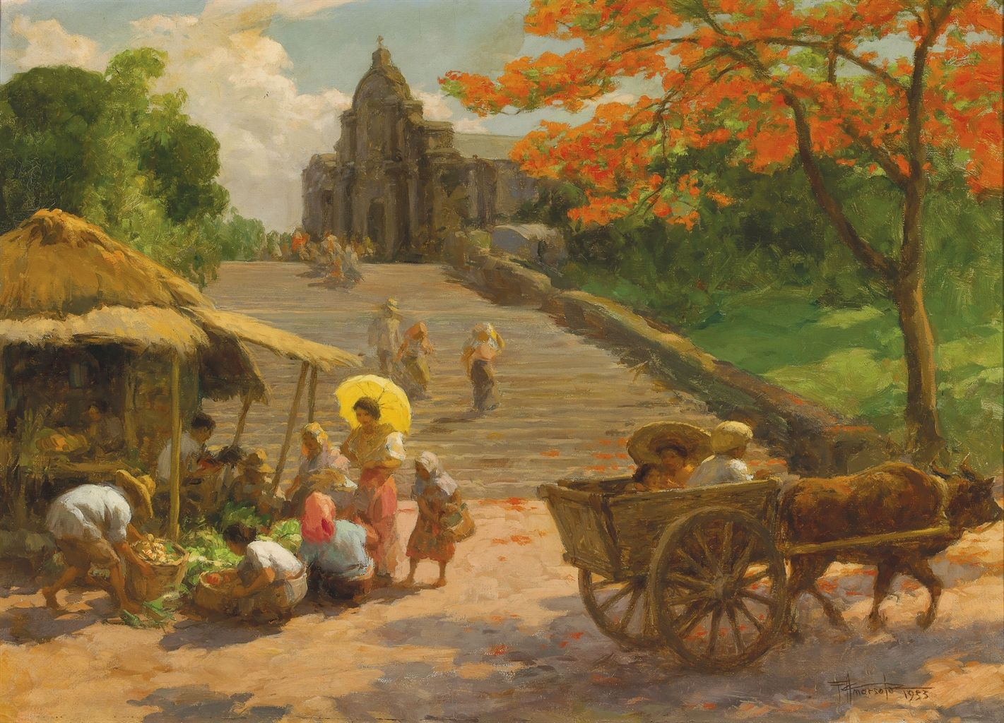 fernando amorsolo Industry leaders in the purchasing and sales of paintings by early philippine painter fernando amorsolo.