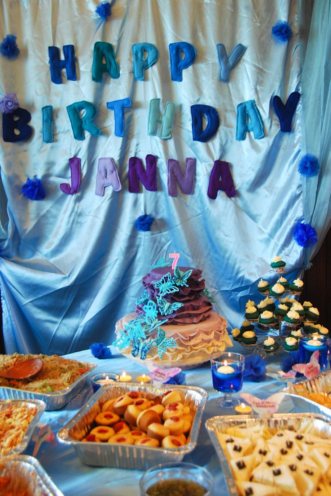 Butterfly and Cinderella themed birthday party - Partyko.com