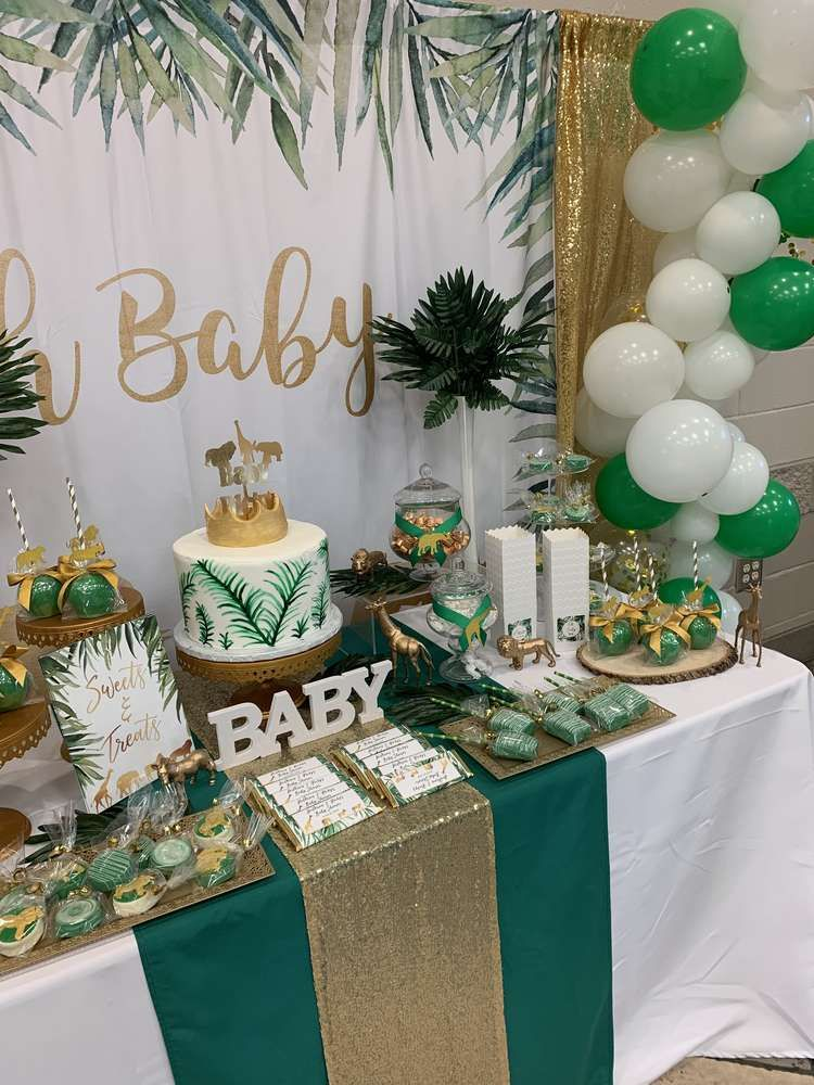 Safari Theme Baby Shower Baby Shower Party Ideas Temas De Baby Shower De Nino Baby Showers De Animales Temas De Baby Shower