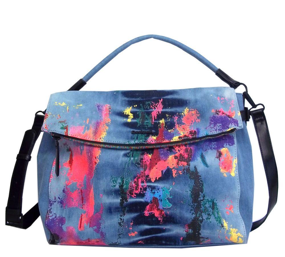 Desigual Tasche Umhängetasche Bag 80' SPLASH FORMENTERA