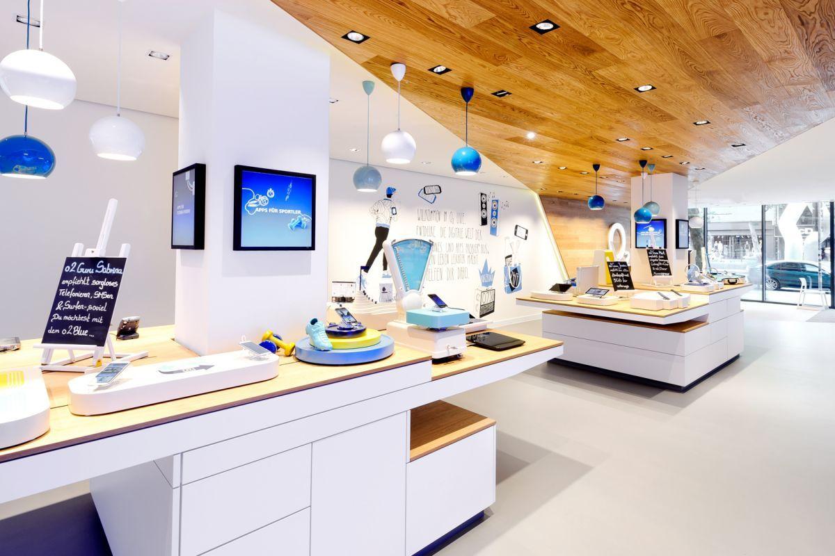 Interior Gmbh o2 live concept store by hartmannvonsiebenthal gmbh retailand