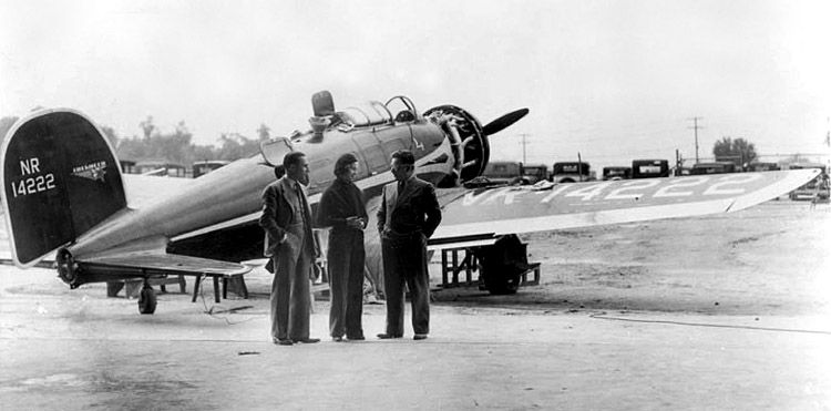 Billy Parker Laura Ingalls And Wiley Post At The 1935 National
