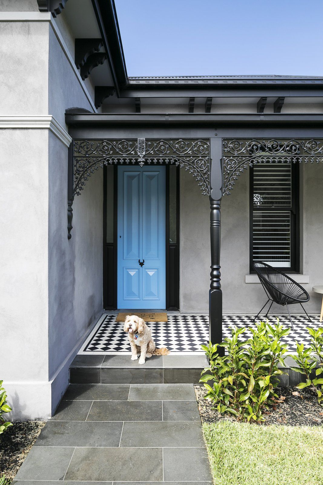 Photo 3 Of 17 In Before After An Australian Victorian Home Gets Terrace House Exterior Victorian Homes Victorian Terrace