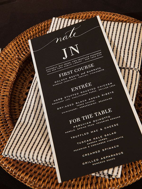 All The Details From Nate Berkus Jeremiah B S Comfort Food Wedding Feast
