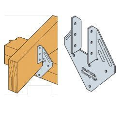 Simpson Strong Tie H1 Hurricane Clip Hurricane Clips Hurricane Framing Construction