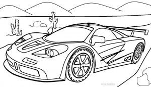 Bugatti Coloring Pages | Cars coloring pages, Race car ...