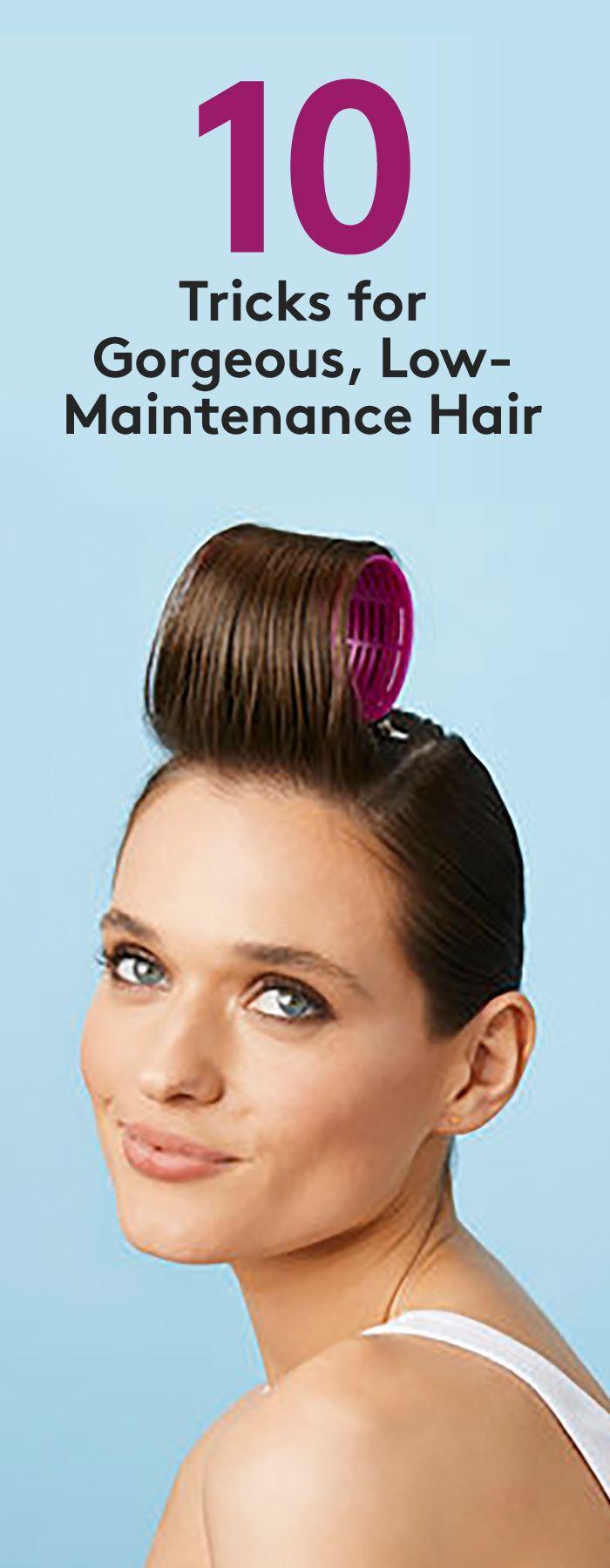 Low-Maintenance Hair Tricks | Low maintenance hair, Hair ...