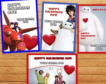 Big Hero 6 Valentine Day Cards Valentines Cards Big Hero 6