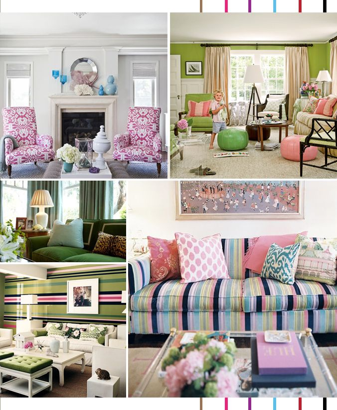 Decor Trend: Preppy Is Back | Via Serial Indulgence