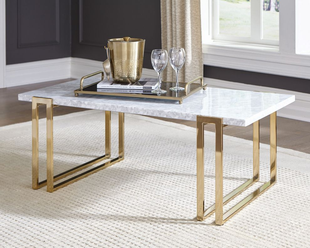 Victoria Marble Gold Rectangle Coffee Table Coffee Table Rectangle Coffee Table Marble Top Coffee Table