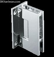 Crl Gen037pn Polished Nickel Geneva 037 Series Wall Mount Full Back Plate Standard Hinge Shower Door Hardware Glass Shower Glass Hinges