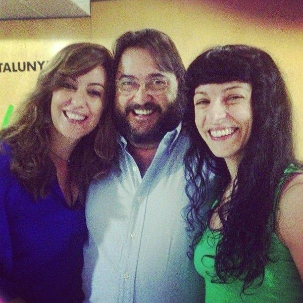 En cinc minuts som amb en Joan Manubens a @miliunanits per dir-ne de molt grosses de SEXE!!!!! #magradaelsexe