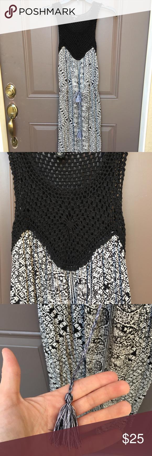 Lucky brand midi dress size small euc in my posh picks