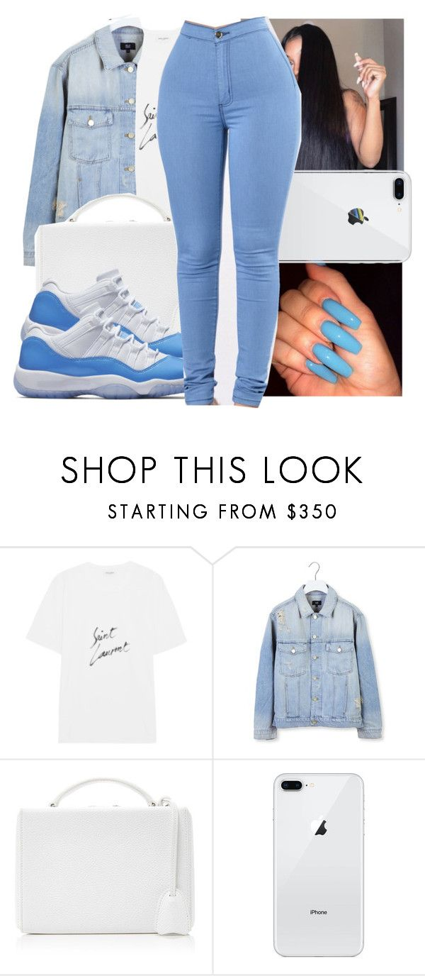 """""""Untitled #536"""" by originial-abigail ❤ liked on Polyvore featuring Yves Saint Laurent, Made.Gold and Mark Cross"""