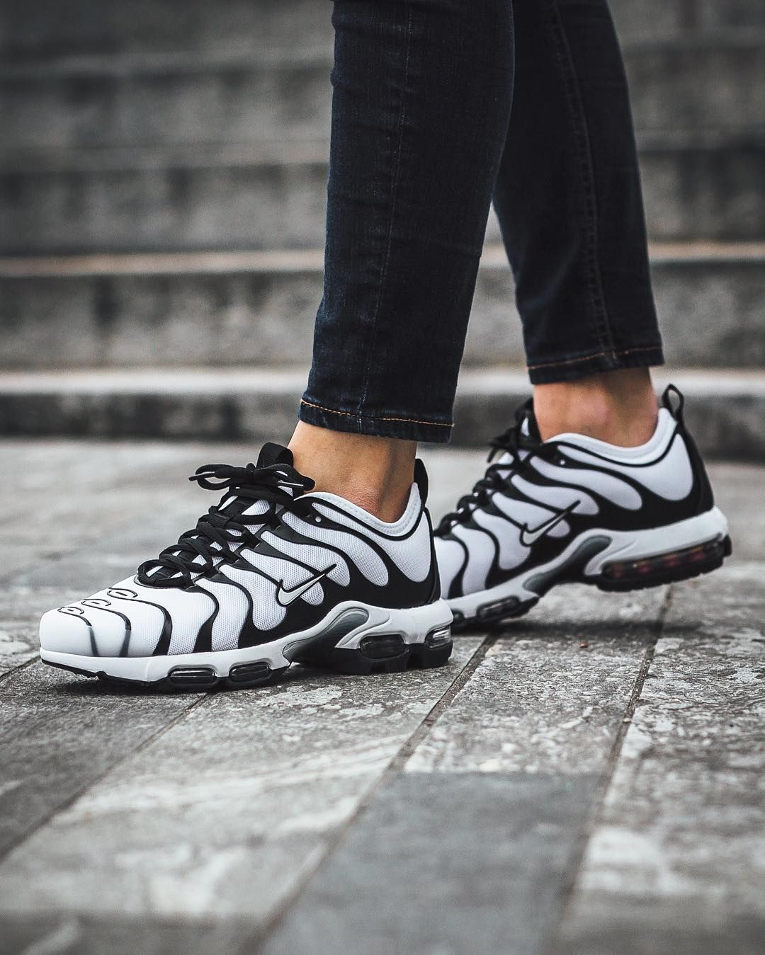 new products eeb2a 49f68 Nike Wmns Air Max Plus TN Ultra: White/White-Black | Nike ...