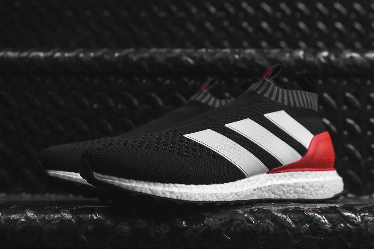 new arrival 3b4a1 6427d adidas Ace 17+ Pure Control Ultra Boost Releasing in Black, White  Red