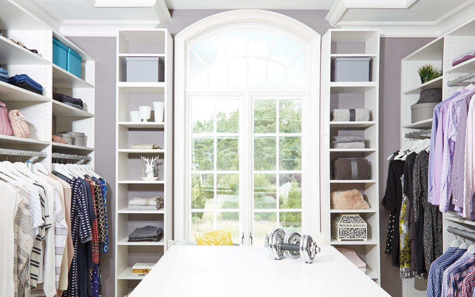 Ridgewood Closets Master Closet Walk In Window Seat