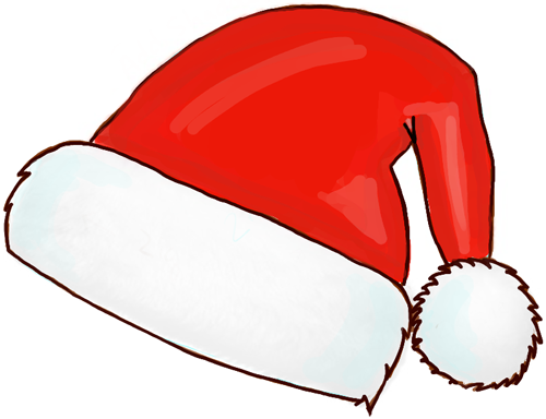 Christmas Hat Drawing Png.Pin On Crafty Things Tutorials