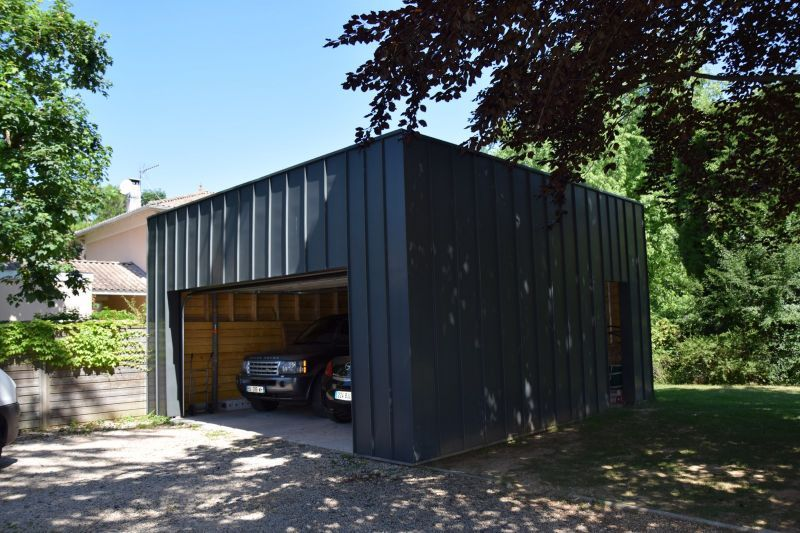 garage contemporain garages pinterest. Black Bedroom Furniture Sets. Home Design Ideas