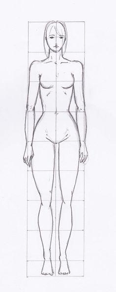 Femme Dessin Corps grille #silhouette femme - labo-d - ©doc.d | corps des femmes