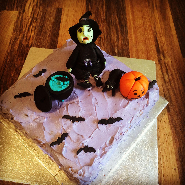 witch, cauldron, pumpkin, halloween, all hallows eve, fun cake for children