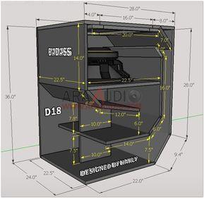 Skema Box Horn Subwoofer D18 Ara Audio Teknologi Rangkaian Elektronik Desain