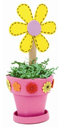 Nicole™ Crafts Foam Flowerpot