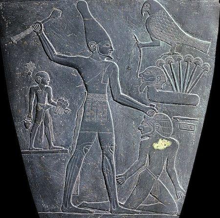 Palette of Narmer (detail)