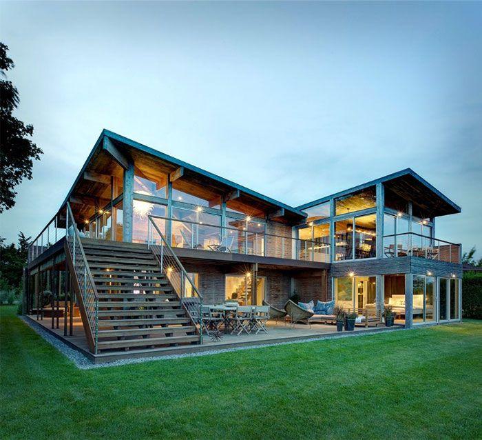 Elegant Eco-Friendly Beach Residence - InteriorZine | Modern Eco ...