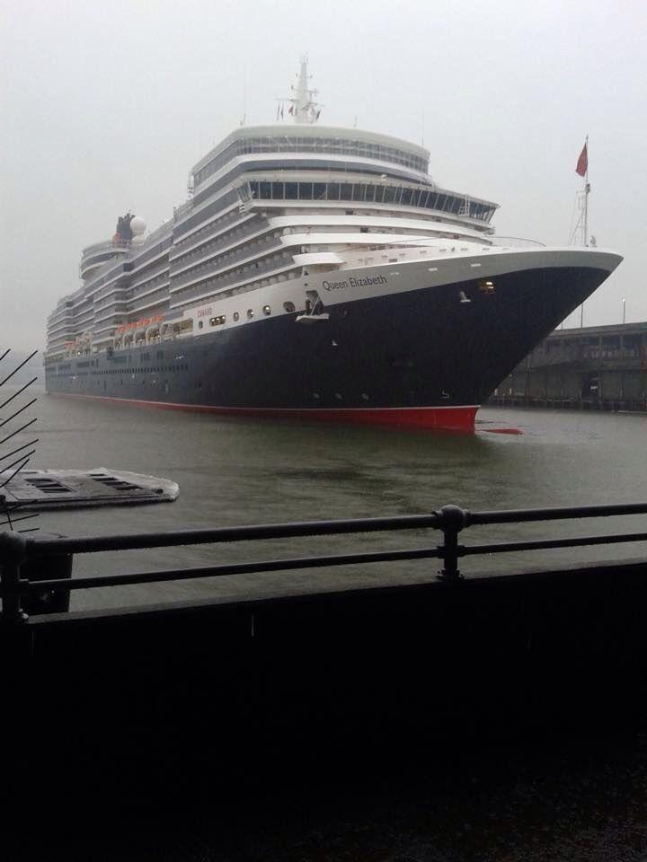 Queen Queen Elizabeth arriving in NY