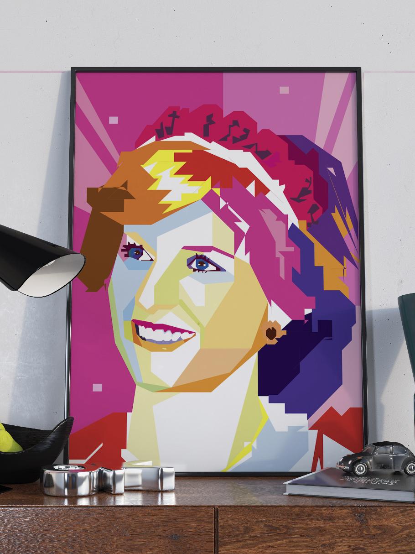 Diana ble kjent for sin stil, karisma, humor og sitt intense arbeid med veldedighetsorganisasjoner, selv om hennes filantropiske forsøk ble overskygget av det kompliserte ekteskapet med prins Charles. Fra forlovelsen med prins Charles i 1981 til hennes død etter en bilulykke i 1997, var Diana én av de mest kjente kvinnene i verden, og ofte beskrevet som verdens mest fotograferte kvinne.