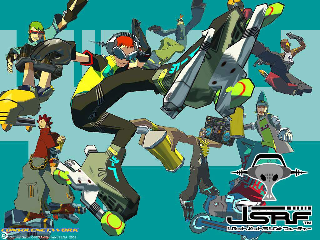 Jsrf Wallpaper Jet Set Radio Future Wallpaper Jet Set