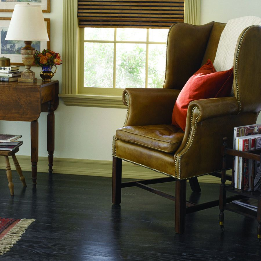 Pergo Max 7 In W X 3 96 Ft L Ebonized Oak Embossed Laminate Wood Planks At Lowes