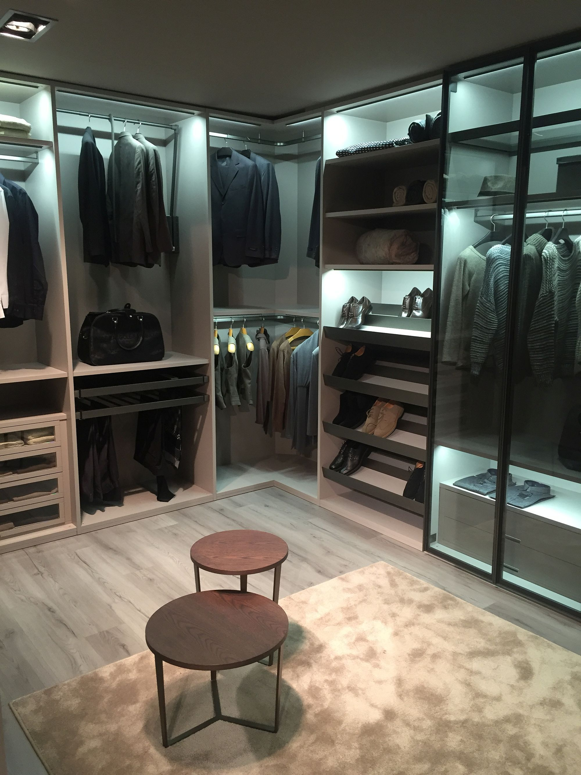 Walk In Wardrobe Provide Plenty Of Space For Your Entire Collection Closet Designs Walk In Closet Design Bedroom Storage