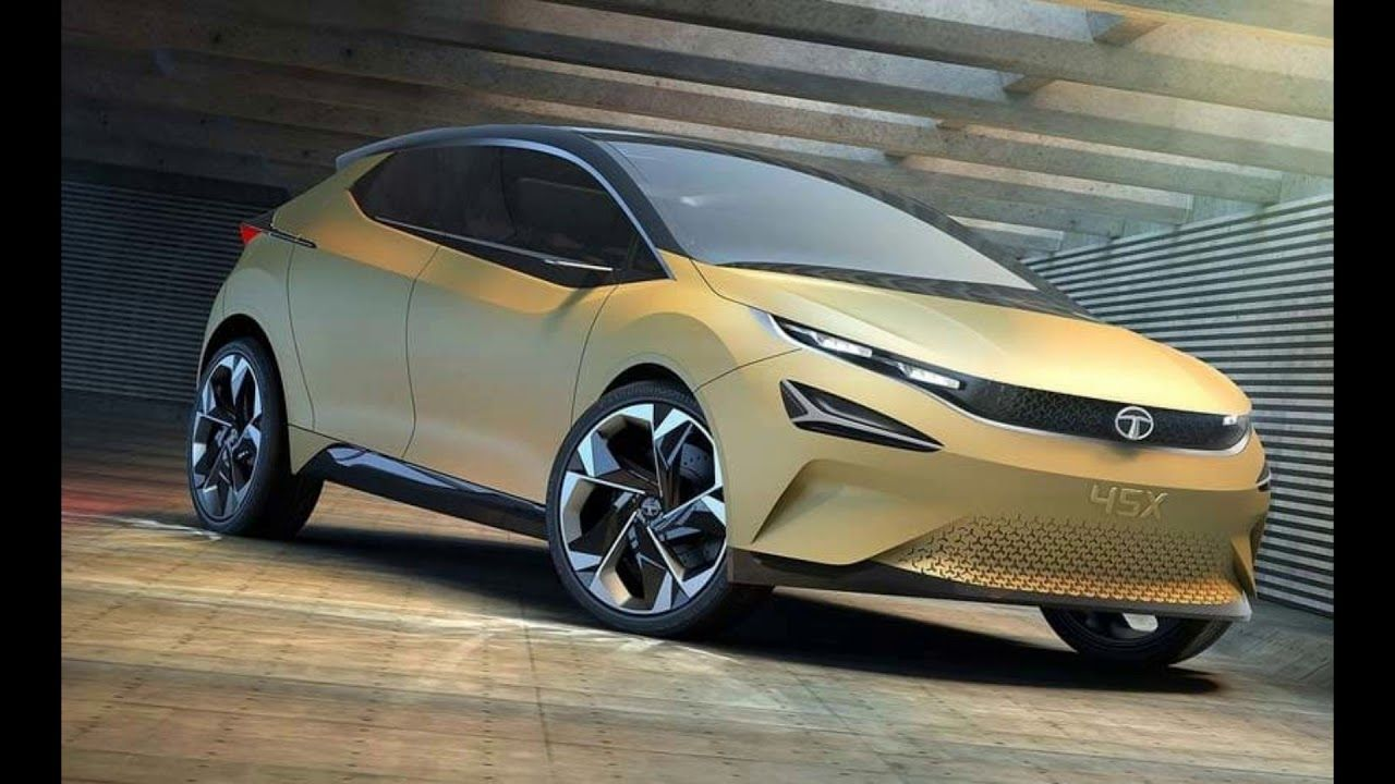 Tata 45X (2020) extra modern SUV with electric engine