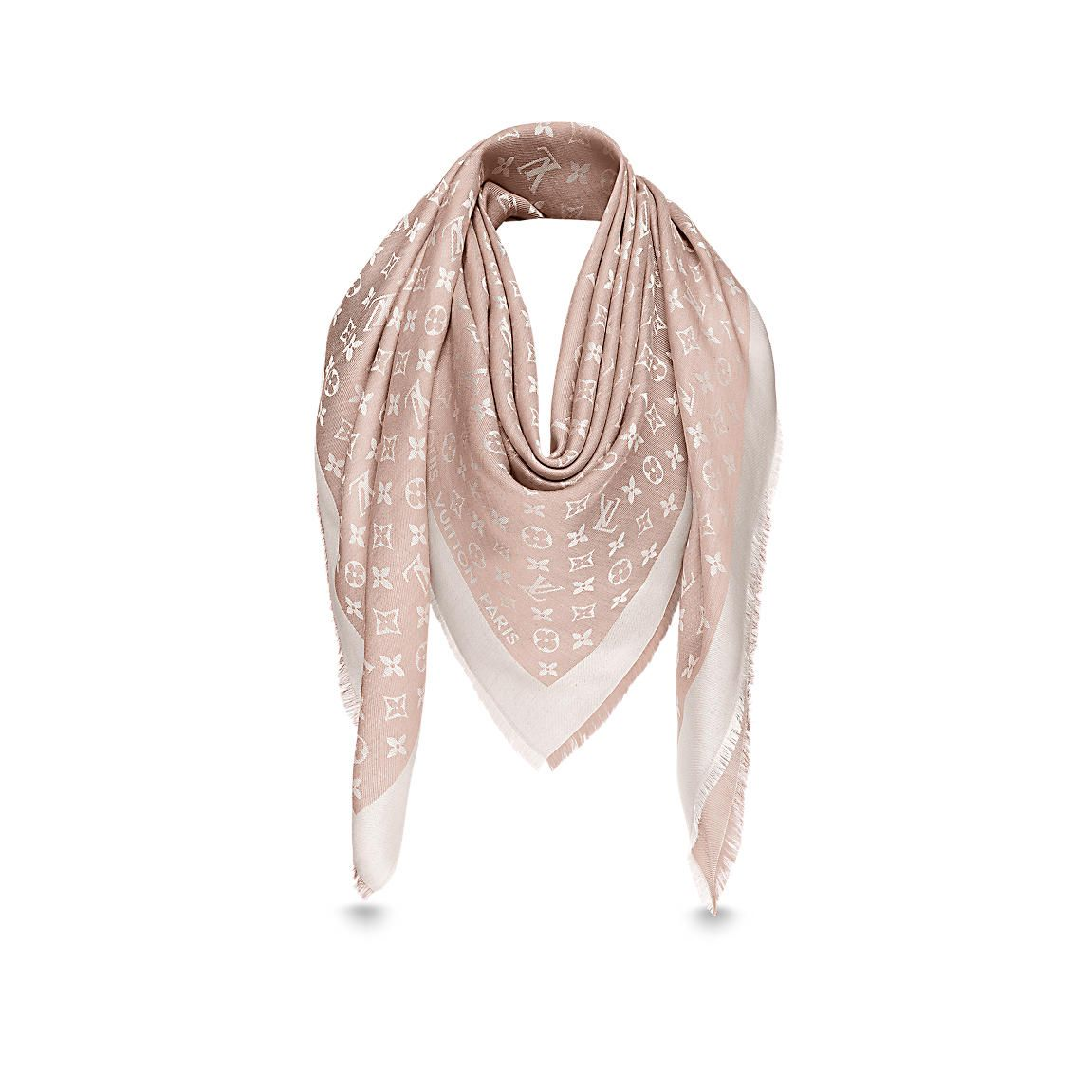 vasta selezione di 617c0 b6dcf Scialle Monogram Denim   Handbags   Louis vuitton scarf ...