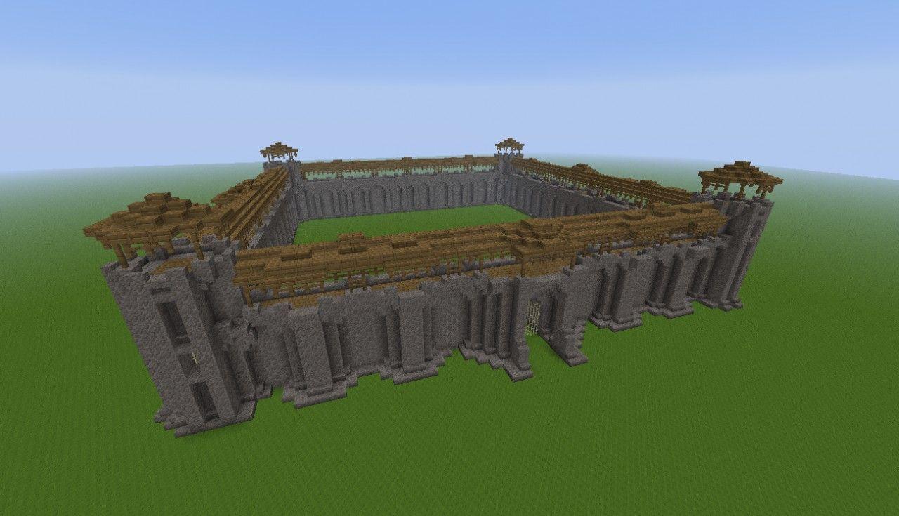 minecraft wall designs. Wall Designs Minecraft Project E