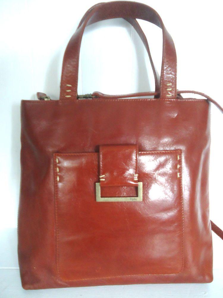 Vintage tula brown tan genuine leather handbag shoulder bag tote. Style  Ideas b554619921ae0