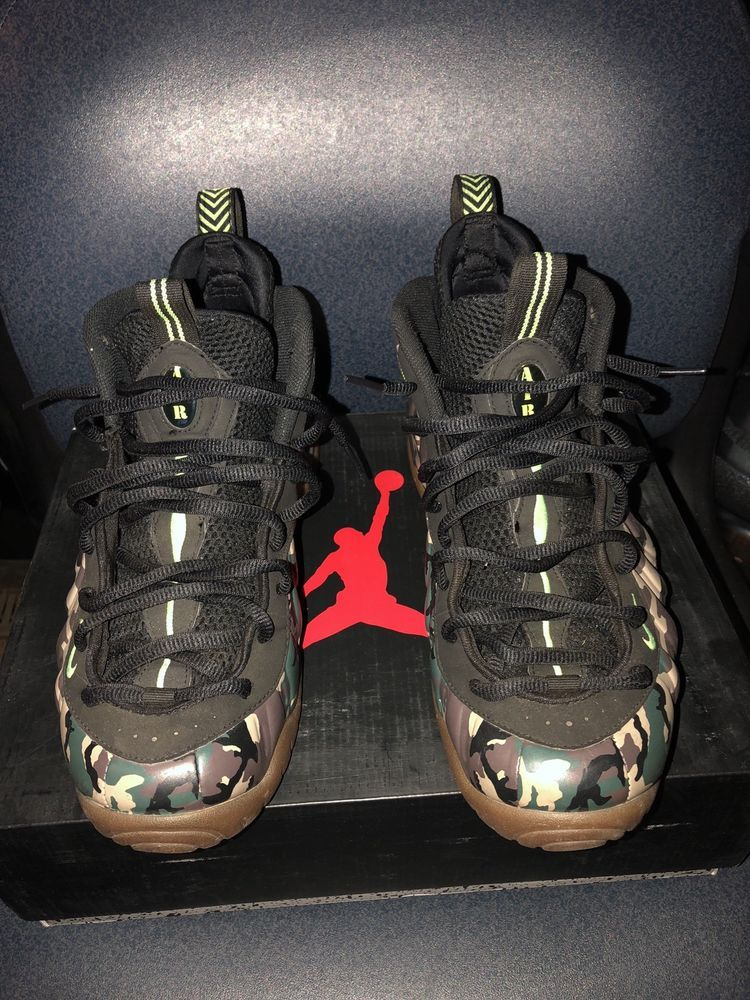 ba040714a702e CLEAN Nike Foamposite Pro Army PRM Camo Woodland Size 11 Bape 587547 300   fashion  clothing  shoes  accessories  mensshoes  athleticshoes (ebay link)