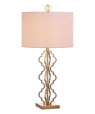 Look At This Zulilyfind Gold Astrid Table Lamp Zulilyfinds Table Lamp Lamp Gold Lamp
