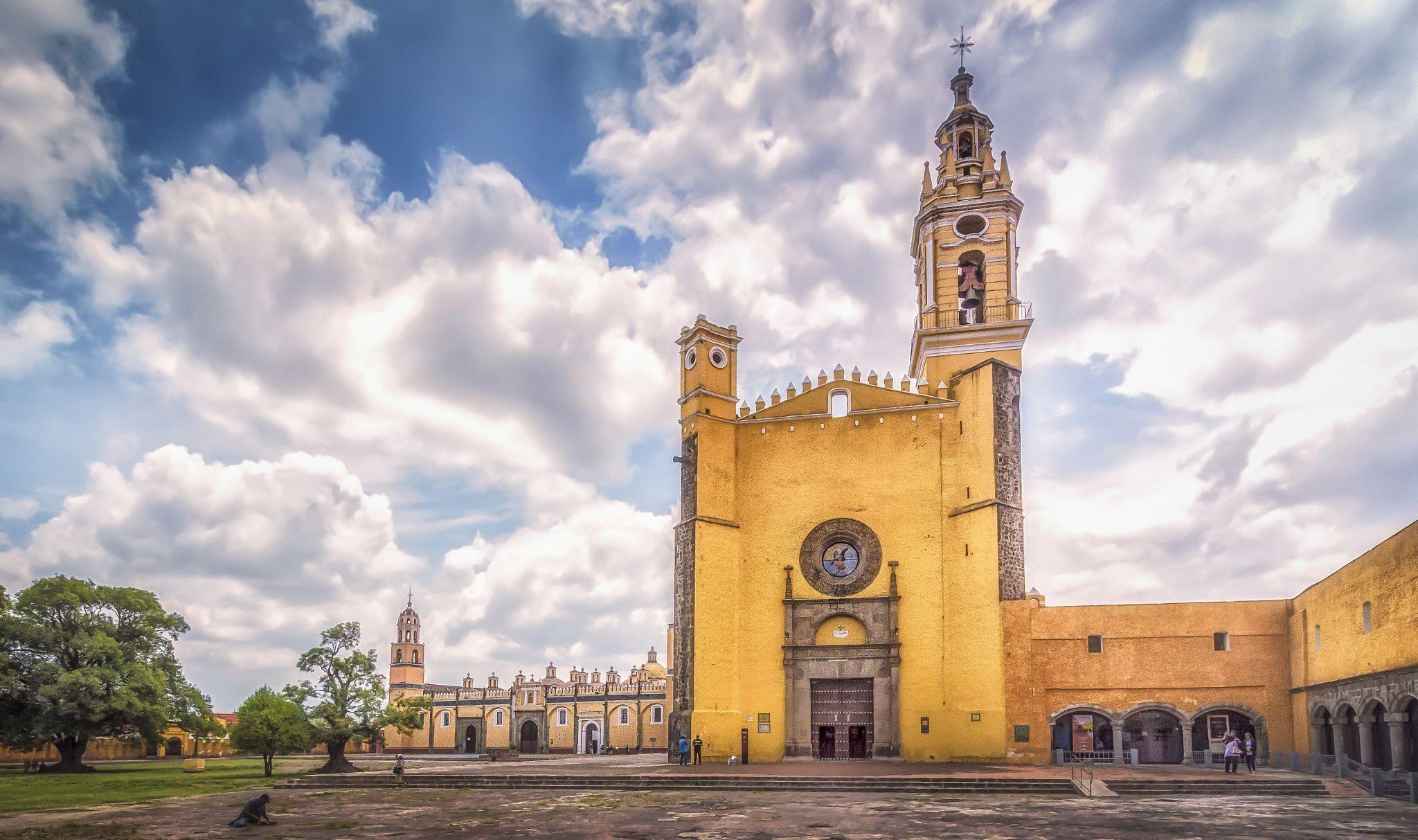 Resultado de imagen para convento de San Gabriel Arcángel de Cholula