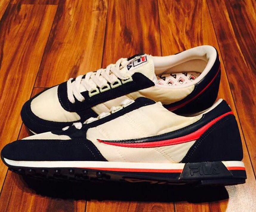 Vintage Fila Runner 80's | Vintage sneakers, Vintage shoes