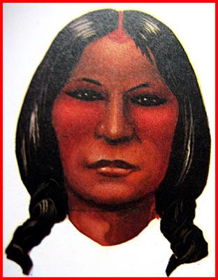 Kiowa Tribe Here The Red Evokes Happiness But Also To Emphasize