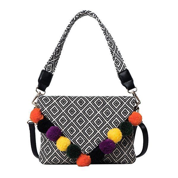 Women Pu Leather Casual Vintage Envelope Color Block Handbag Shoulder Bag Crossbody Pamp G Handbags 7 Star 2017 Autumn