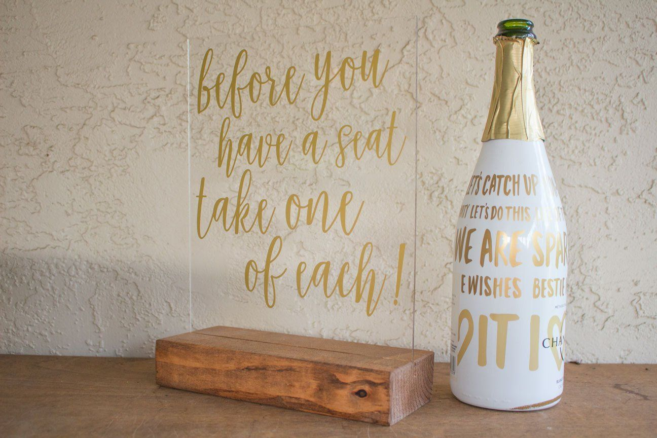 Wedding Favor/Escort Card Sign   Favors, Wedding place cards and ...