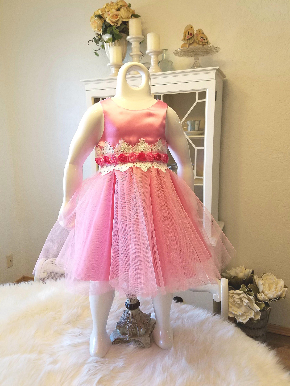 Baby Girls Party Dress Toddler Dress Flower Girl Dress Tea Party